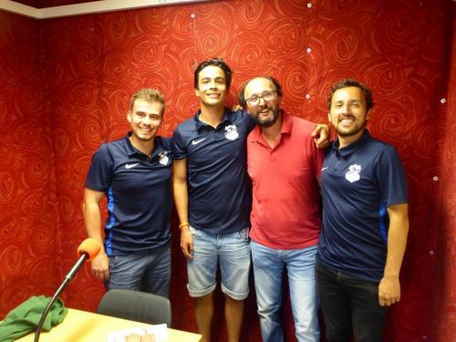 Atletico bei Radio Z (Latinotopia)